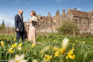 spring wedding at huntsham court