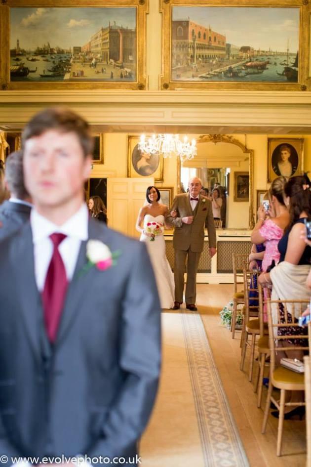 wedding at maunsel house