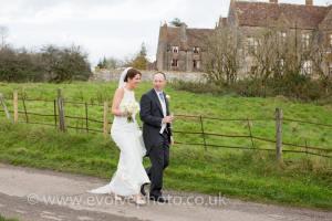 Autumn wedding at Huntsham Court