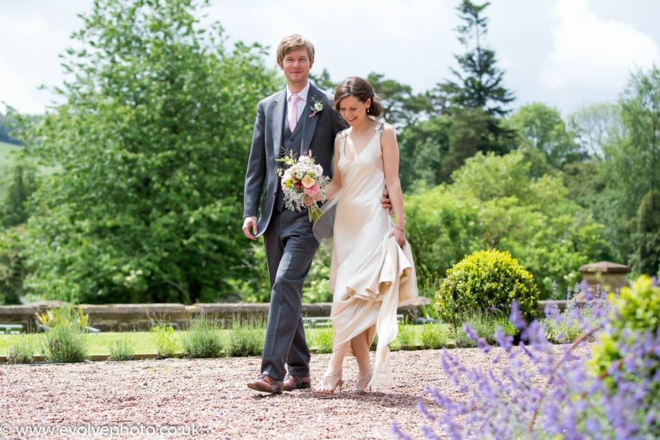 huntsham court wedding photo