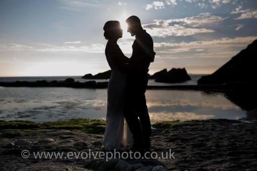 tunnels beaches wedding photos