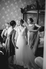 beautiful getting ready photo at huntsham court