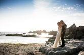 Bride-and-groom-tunnels-beaches-beach-wedding-devon